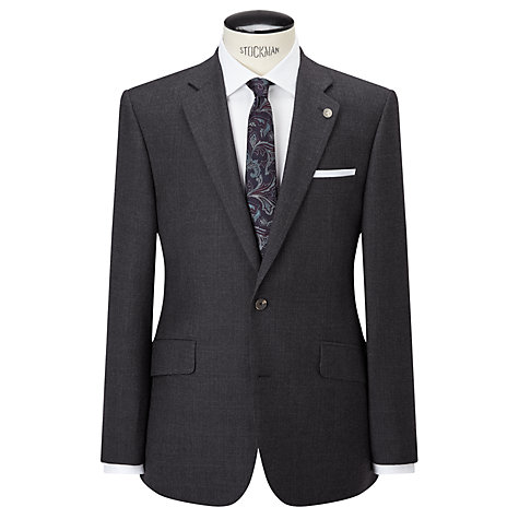 Buy Chester by Chester Barrie Glen Check Tailored Suit Jacket, Grey/Blue Online at johnlewis.com