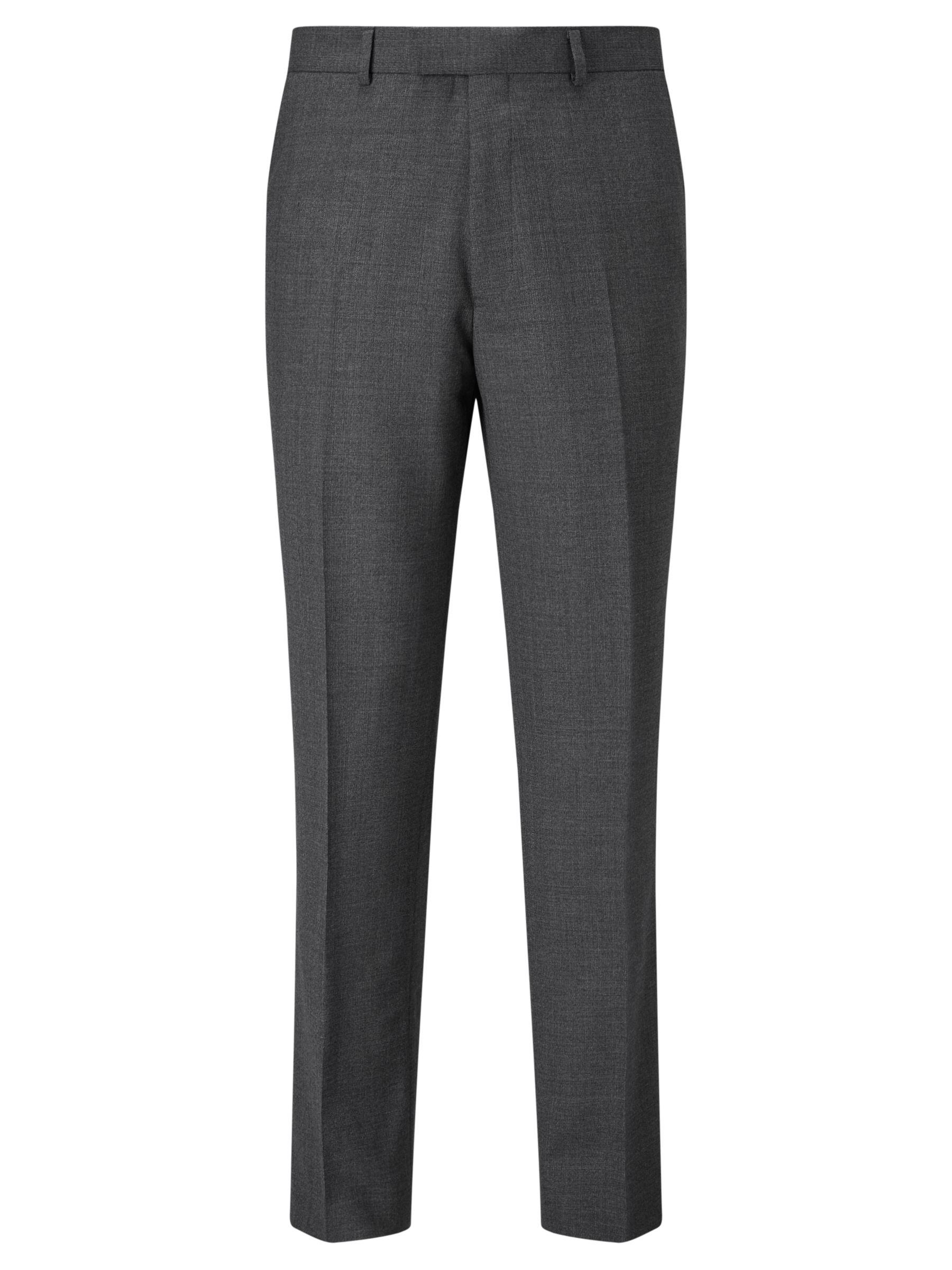 Chester by Chester Barrie Chester by Chester Barrie Semi Plain Wool Tailored Suit Trousers, Grey