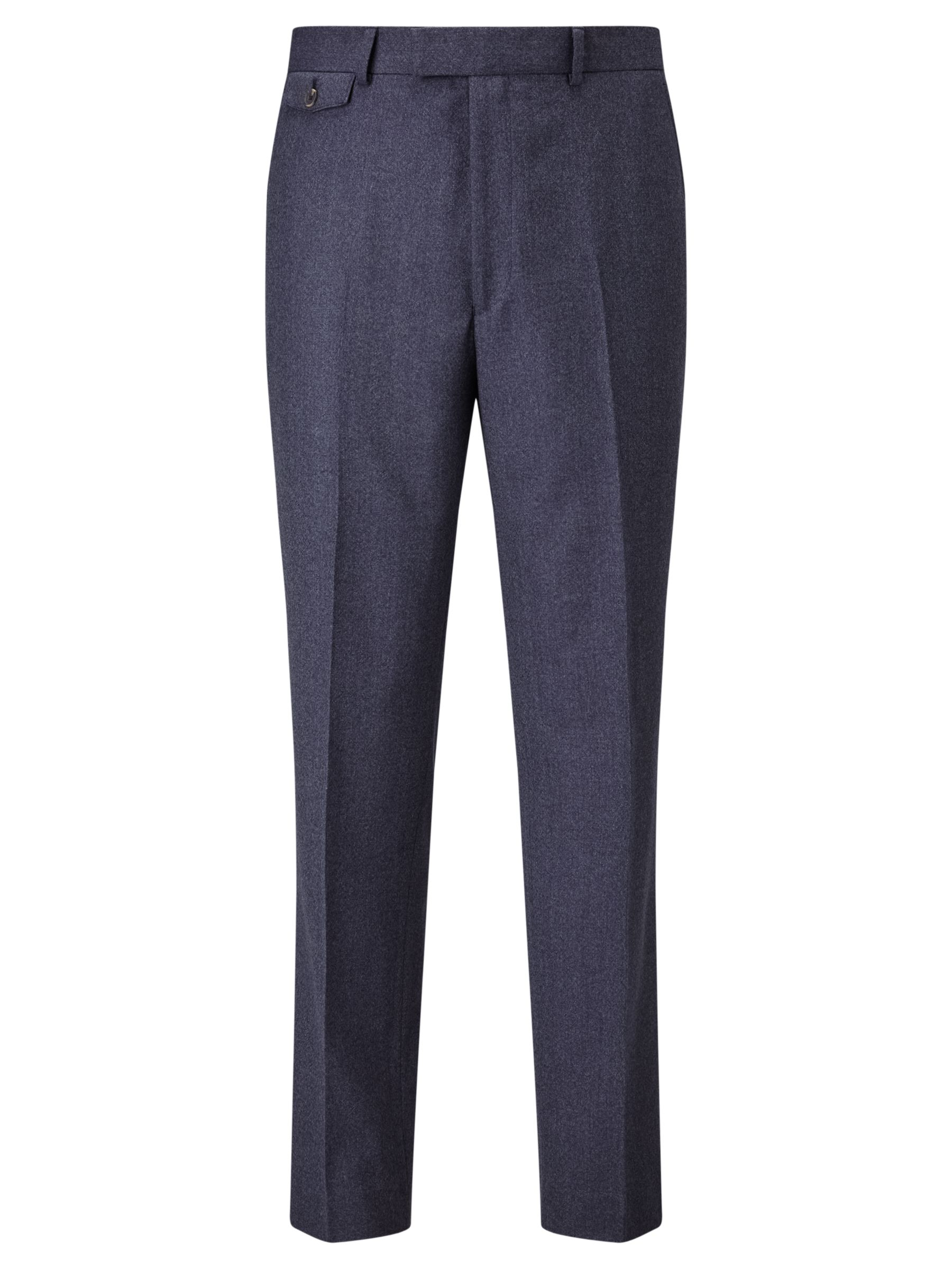 Chester by Chester Barrie Chester by Chester Barrie Flannel Wool Tailored Suit Trousers, Airforce