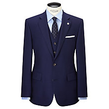 Buy Chester by Chester Barrie Hopsack Wool Tailored Suit Jacket, Navy Online at johnlewis.com