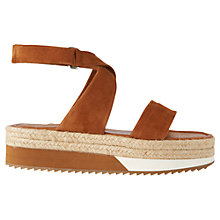 Buy Whistles Sayes Flatform Sandals Online at johnlewis.com