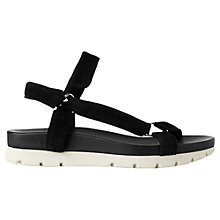 Buy Whistles Trent Rip Tape Sandals Online at johnlewis.com