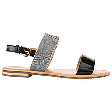 Buy Geox Sozy Sling Back Sandals, Black Online at johnlewis.com