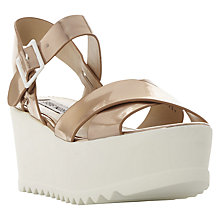 Buy Steve Madden Sympill Flatform Sandals Online at johnlewis.com