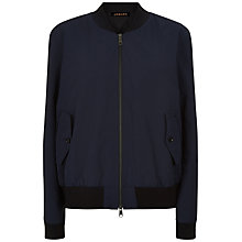 Buy Jaeger Bomber Jacket, Navy Online at johnlewis.com