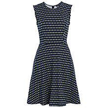 Buy French Connection Bacongo Tim Tim Dress, Utility Blue Online at johnlewis.com