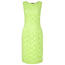 Buy Precis Petite Jasmine Lace Shift Dress, Citrus Green Online at johnlewis.com