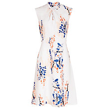 Buy Reiss Cosmic Printed Dress, Multi Neutrals Online at johnlewis.com