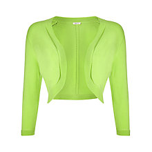 Buy Precis Petite Shrug, Bright Green Online at johnlewis.com