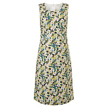 Buy East Penny Shift Dress, Lime Online at johnlewis.com