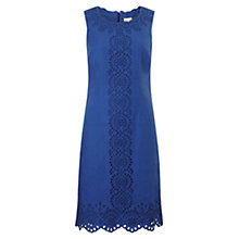 Buy East Cut Work Shift Dress, Cobalt Online at johnlewis.com
