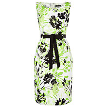 Buy Precis Petite Clipse Floral Dress. Green/Multi Online at johnlewis.com