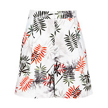 Buy Reiss Selena Shorts, White/Multi Online at johnlewis.com