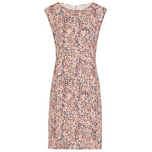 Buy Reiss Ashe Printed Dress, Pink Online at johnlewis.com