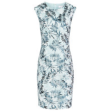 Buy Reiss Kim Embroidered Detail Dress, Soft Green Online at johnlewis.com