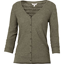 Buy Fat Face Annie Cotton Pointelle Cardigan Online at johnlewis.com