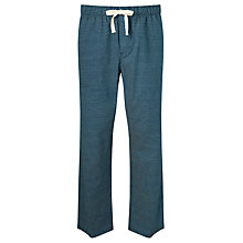 Buy John Lewis Brick Print Lounge Pants, Blue Online at johnlewis.com