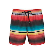 Buy Paul Smith Classic Stripe Swim Shorts, Multi Online at johnlewis.com