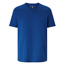 Buy John Lewis Jersey Cotton Crew Neck T-Shirt, Blue Online at johnlewis.com