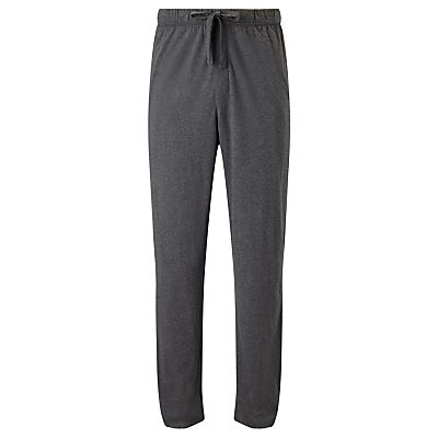 John Lewis Jersey Cotton Lounge Pants, Grey