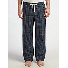 Buy John Lewis Petersfield Check Lounge Pants, Navy Online at johnlewis.com