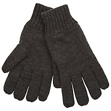 Buy John Lewis Knitted Fleece Gloves Online at johnlewis.com