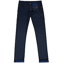 Buy Ted Baker Taxel Smart Tapered Jeans, Rinse Denim Online at johnlewis.com