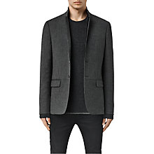 Buy AllSaints Howth Blazer, Grey Online at johnlewis.com