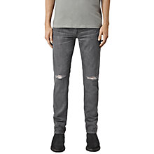 Buy AllSaints Spikey Iggy Slim Jeans, Black Online at johnlewis.com
