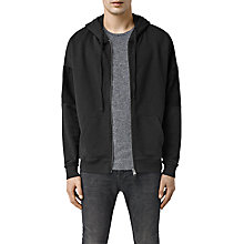 Buy AllSaints Cranis Full Zip Hoodie Online at johnlewis.com