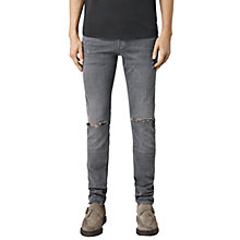 Buy AllSaints Isodon Cigarette Jeans, Grey Online at johnlewis.com