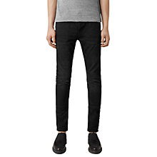 Buy AllSaints Kaneko Cigarette Jeans, Black Online at johnlewis.com