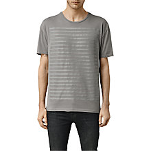 Buy AllSaints Defeat Crew Neck T-Shirt Online at johnlewis.com