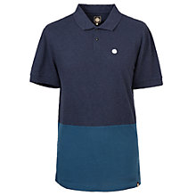 Buy Pretty Green Easton Polo Shirt, Navy Online at johnlewis.com