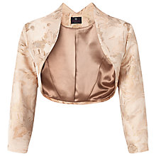 Buy Ariella Kori Jacquard Jacket, Gold Online at johnlewis.com