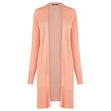 Buy Oasis Longline Rib Trim Edge To Edge Cardigan Online at johnlewis.com