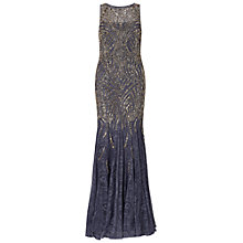 Buy Ariella Winnie Beaded Lace Dress, Grey Online at johnlewis.com
