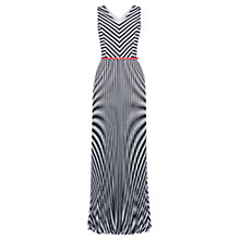 Buy Oasis Riviera Maxi Dress, Multi/Blue Online at johnlewis.com