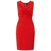 Buy Ariella Margot Tie Knot Shift Dress, Red Online at johnlewis.com