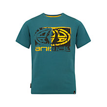 Buy Animal Boys' Hawk T-Shirt, Teal Online at johnlewis.com
