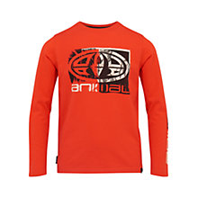 Buy Animal Boys' Long Sleeve Board T-Shirt Online at johnlewis.com