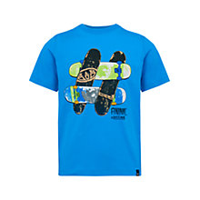 Buy Animal Boys' Skatemore T-Shirt, Blue Online at johnlewis.com