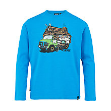 Buy Animal Boys' Spin Long Sleeve T-Shirt Online at johnlewis.com
