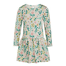 Buy John Lewis Girls' Floral Dress, Multi Online at johnlewis.com