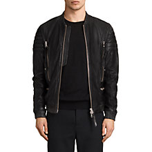 Buy AllSaints Sanderson Bomber Jacket Online at johnlewis.com
