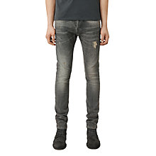 Buy AllSaints Raveline Jeans, Dark Grey Online at johnlewis.com
