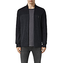 Buy AllSaints Wherry Stripe Cardigan, Ink Navy Online at johnlewis.com