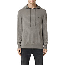 Buy AllSaints Wherry Knitted Overhead Hoody Online at johnlewis.com