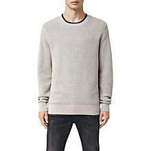 Buy AllSaints Rye Waffle Knit Jumper Online at johnlewis.com