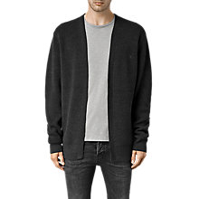 Buy AllSaints Trias Cardigan, Cinder Marl Online at johnlewis.com